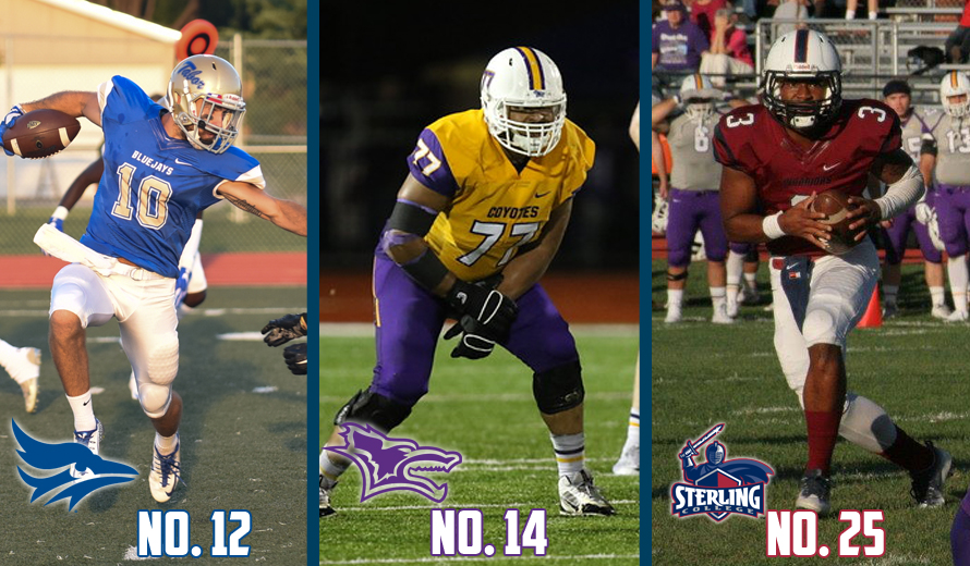 Photo for Tabor No. 12, Kansas Wesleyan No. 14, Sterling No. 25 in NAIA Football Top 25 Poll