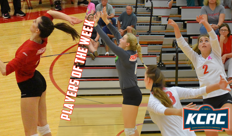 Photo for Friends Sweeps KCAC Volleyball Weekly Awards