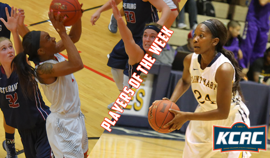 Photo for Sellers and White Earn KCAC W -  Basketball Weekly Honors