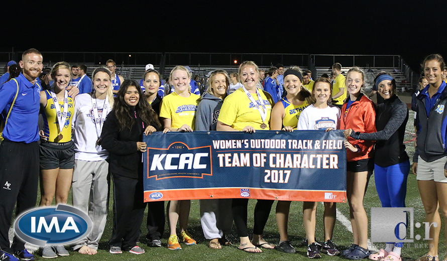 Photo for Bethany College W -  Outdoor Track and Field Named KCAC Team of Character