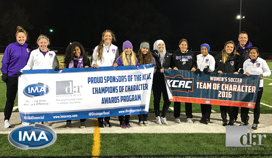 Photo for Southwestern College W -  Soccer Earns 2016 KCAC Team of Character