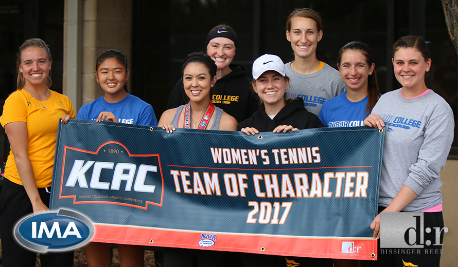 Photo for Tabor College W -  Tennis Earns KCAC Team of Character