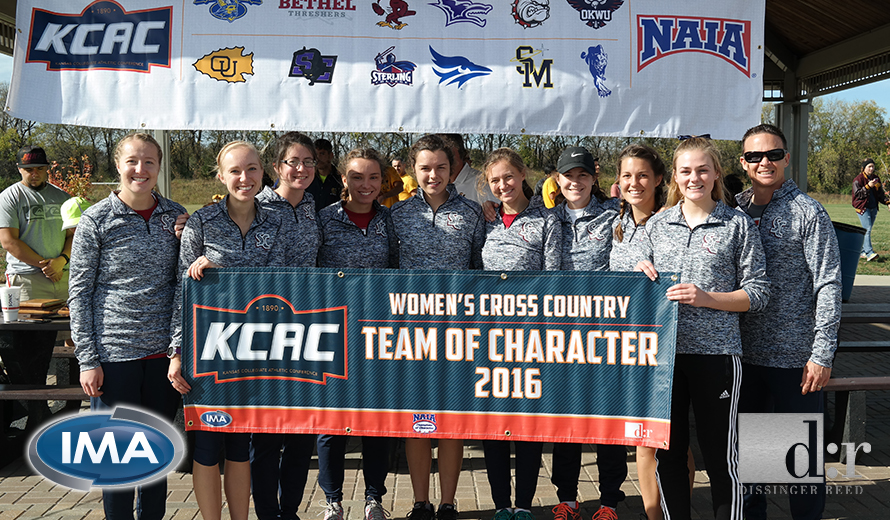 Photo for Sterling College W -  Cross Country Earns 2016 KCAC Team of Character
