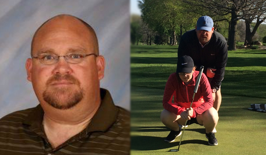 Photo for Matt Fike Named Head Coach of M -  and W -  Golf at York