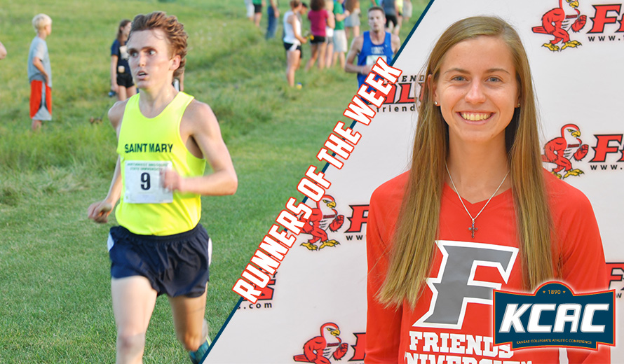 Photo for Weber and Follette Earn Second-Straight KCAC Cross Country Weekly Awards