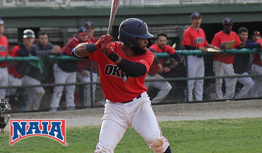 Photo for Oklahoma Wesleyan's Chris Acosta-Tapia Named NAIA Baseball Player of the Year