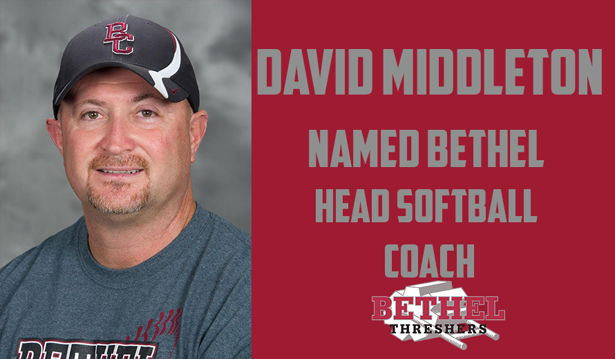 Photo for David Middleton Named Head Softball Coach