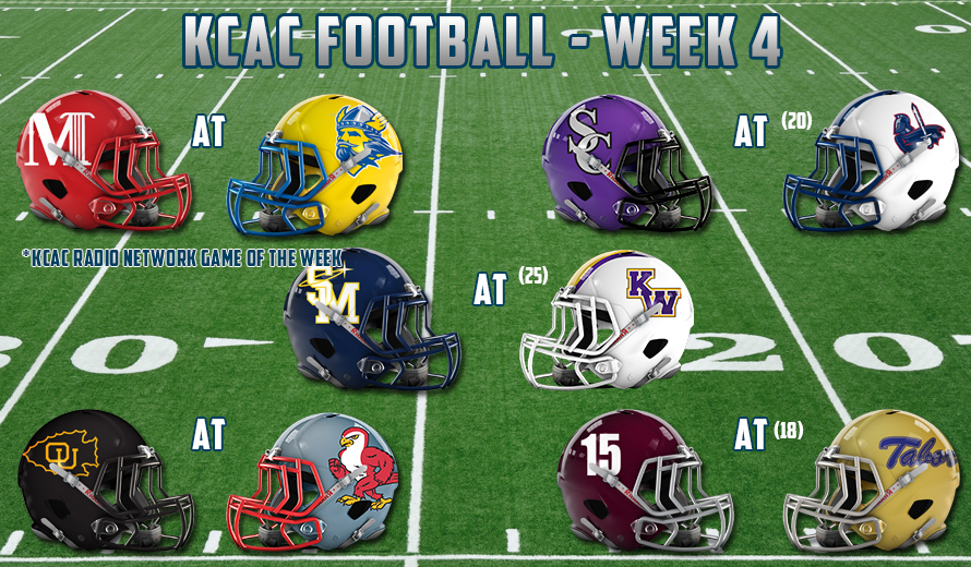Photo for 2017 KCAC FOOTBALL - WEEK FOUR PREVIEW