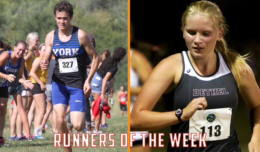 Photo for Meek and Meysing Earn KCAC Cross Country Weekly Awards