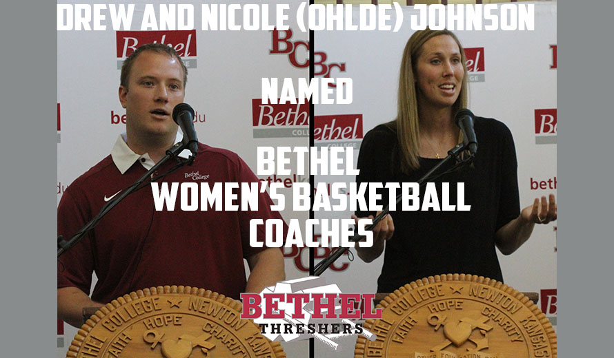 Photo for Drew and Nicole (Ohlde) Johnson Take Reigns of W -  Basketball Program at Bethel