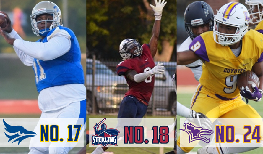 Photo for Tabor No. 17, Sterling No.18, and Kansas Wesleyan No. 24 in NAIA Coaches' Poll