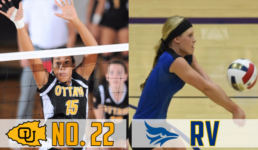 Photo for Ottawa No. 22, Tabor Receiving Votes in the NAIA Volleyball Coaches' Poll