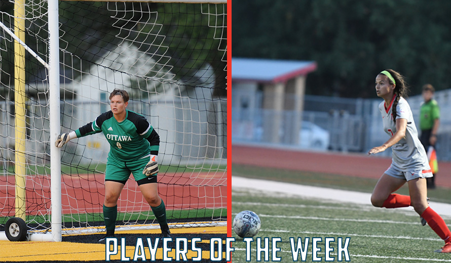 Photo for Johnson and Kakebeen Earn KCAC W -  Soccer Weekly Awards